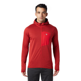 Mountain Hardwear Type 2 Fun 3/4 Zip Hoody Herren racer